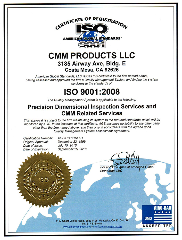 ISO 9001_2008 Certificate